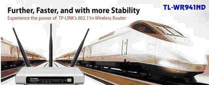 TP-Link TL-WR941ND - Trái tim cho kết nối không dây