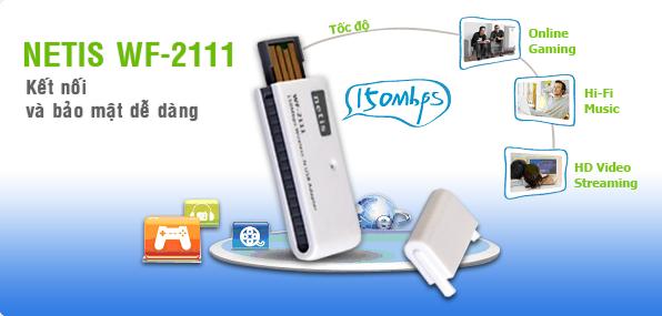 Dòng sản phẩm Wireless 802.11n hiệu suất cao của Netis