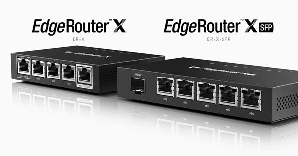 EdgeRouter™ X giá tốt, hiệu suất cao, kiểu dáng nhỏ gọn.