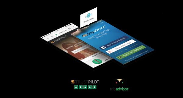 Kết nối với TripAdvisor & TrustPilot