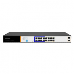 IS-U16G2S (GIGABIT 16 PORT AI POE SWITCH )